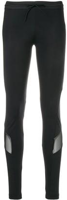 Y-3 logo printed leggings