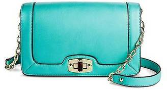 Merona; Women's Crossbody Faux Leather Handbag with Turn Lock Closure and Chain Strap... $29.99 thestylecure.com