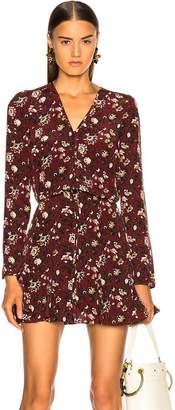 Veronica Beard Riggins Dress In Bordeaux Multi