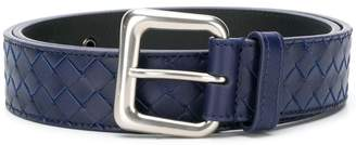 Bottega Veneta calf Intrecciato belt