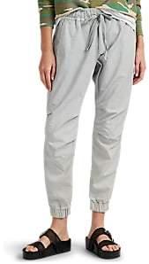 NSF Women's Jessa Piqué Cotton Crop Pants - Gray