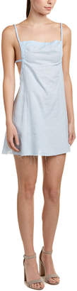 Somedays Lovin Somedays Lovin' Blue Bay Linen-Blend Shift Dress