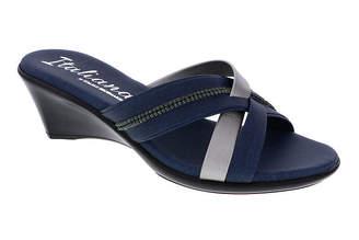 Amalia ITALIANA BY ITALIAN SHOEMAKERS Italiana By Italian Shoemakers Womens Wedge Sandals