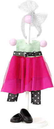 Madame Alexander Hot Pink And Black Doll Outfit