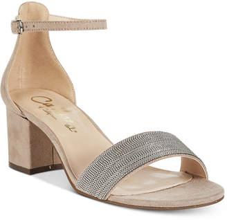 Callisto Jazmine Block-Heel Dress Sandals