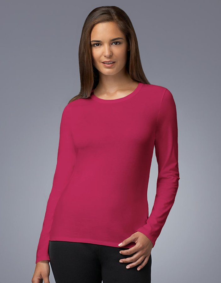 Lord & Taylor Cotton Knit Long-Sleeved T-Shirt
