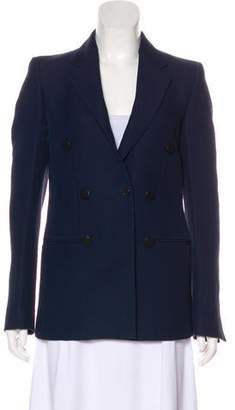 Celine Double-Breasted Structured Blazer