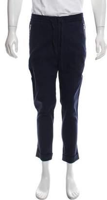 The Kooples Woven Straight-Leg Pants