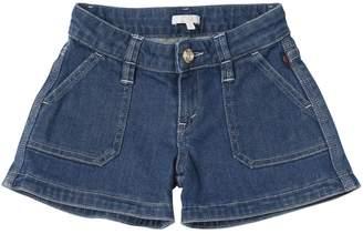 Chloé Stretch Cotton Denim Shorts
