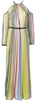 Missoni cold shoulder striped dress