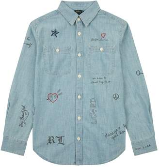 Polo Ralph Lauren Doodle Denim Shirt