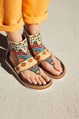 Free People Fp Collection Tahiti Beaded Sandal