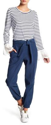 Fever Belted Jogger Pants