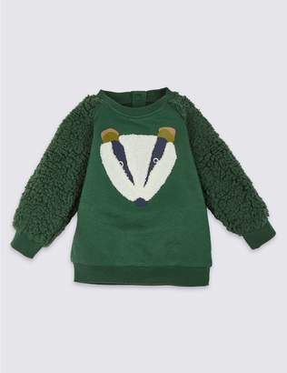 Marks and Spencer Pure Cotton Sweatshirt