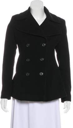 DKNY Wool Short Coat