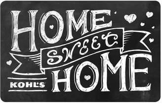 Kohl's Home Sweet Home Gift Card