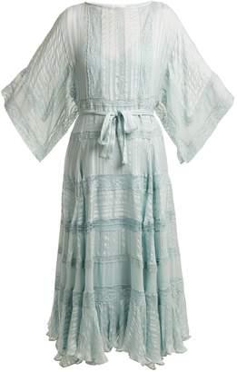 Zimmermann Whitewave Veil silk dress