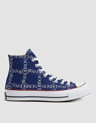 Converse J.W.A. Logo Grid Chuck Taylor 70 High Sneaker in Twilight