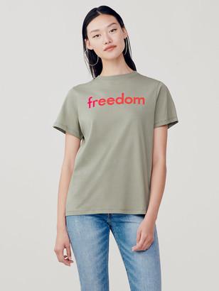 Diane von Furstenberg Sold Out Freedom Cotton T-Shirt