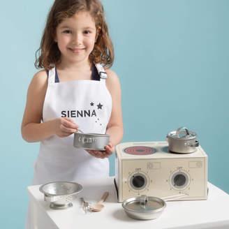 Twenty-Seven Children's Toy Kitchen And Personalised Apron