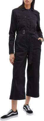 Proenza Schouler PSWL 'Utility' belted patch pocket twill jumpsuit