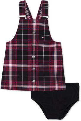 Tommy Hilfiger 2-Pc. Baby Girls Plaid Skirtall & Panty Set