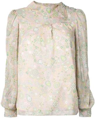 See by Chloe paisley patterned blouse