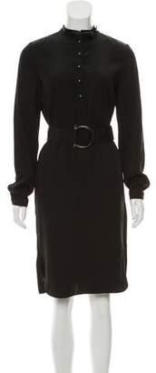 Salvatore Ferragamo Long Sleeve Midi Dress w/ Tags