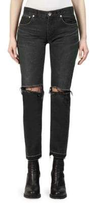 Sacai Ripped Denim Jeans