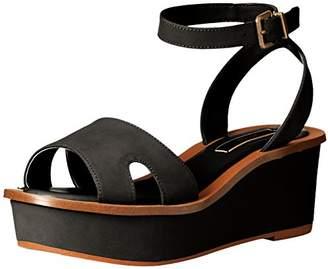 Kensie Women's Tray Platform Sandal