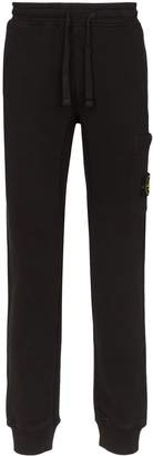 Stone Island logo patch track pants