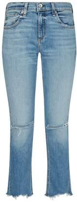 Rag & Bone Halsey Ankle Dre Distressed Boyfriend Jeans