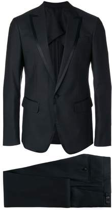DSQUARED2 satin lapel dinner suit