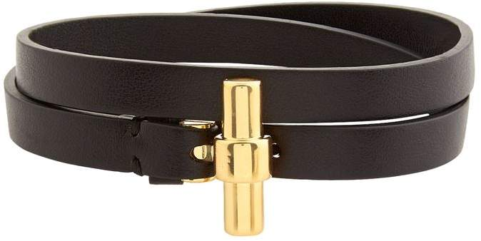 Leather Wrap Belt Bracelet