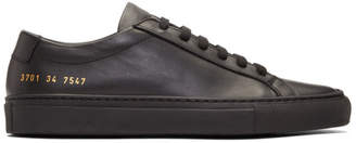 Common Projects Woman By Woman by Black Original Achilles Low Sneakers