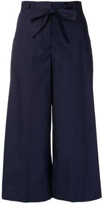 Blugirl cropped wide leg trousers