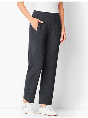 Talbots Essential Terry Relaxed-Leg Pants