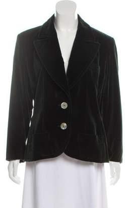Saint Laurent Velvet Blazer Jacket
