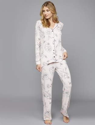 A Pea in the Pod P.J. Salvage Relaxed Fit Nursing Pajama Set