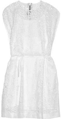 McQ Guipure Lace Mini Dress
