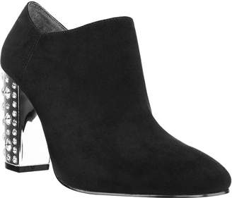 I. MILLER I. Miller Womens Ilaria Bootie Block Heel Zip
