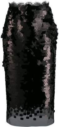 Ermanno Scervino sequin pencil skirt