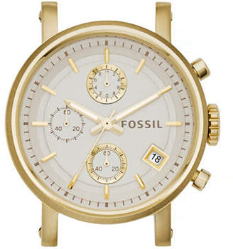 Fossil Boyfriend Chronograph Goldtone Stainless Steel Watch Case