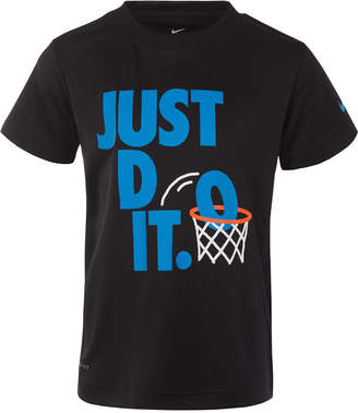 Nike Little Boys Just Do It-Print T-Shirt