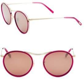 Oliver Peoples MP-3 30th 51MM Round Sunglasses