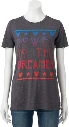 "Disney's Mickey Mouse Juniors' ""Power To The Dreamer"" Graphic Tee $24 thestylecure.com"