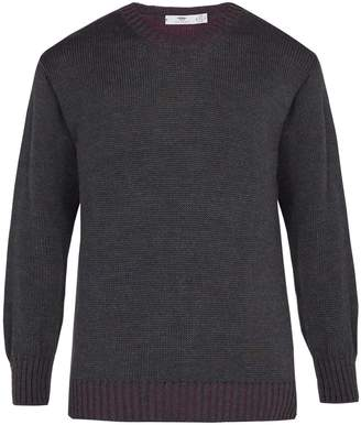 INIS MEÁIN Alpaca and silk-blend crew-neck sweater