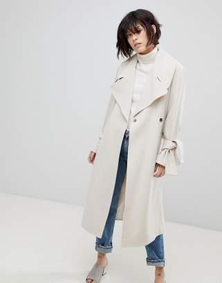 Asos DESIGN Belted Coat