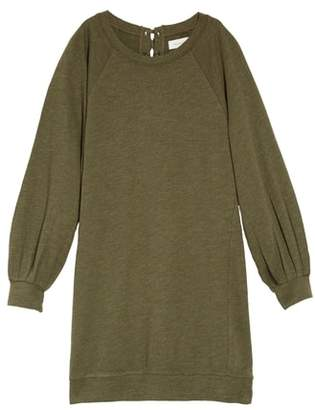 Treasure & Bond Bubble Sleeve Shift Dress