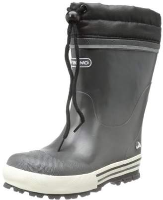 Viking Unisex - Child JOLLY WINTER Rubber Boots Gray Grau (charcoal 77) Size: